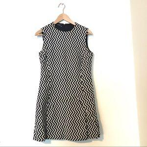 Black and White Pattern Dress | Neil Barrett